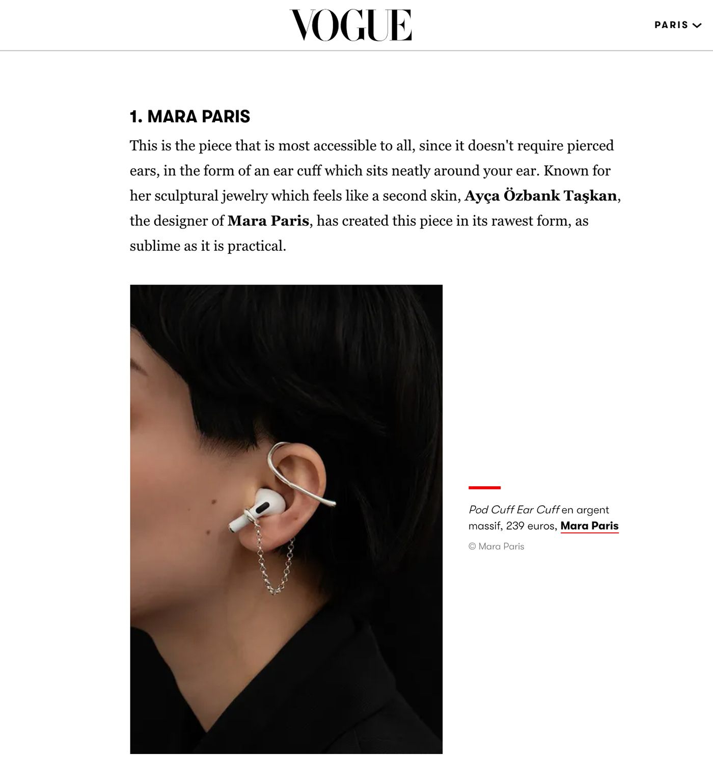 Vogue - 7 pretty and practical Airpod accessories so you will never lose yours again by Emeline Blanc