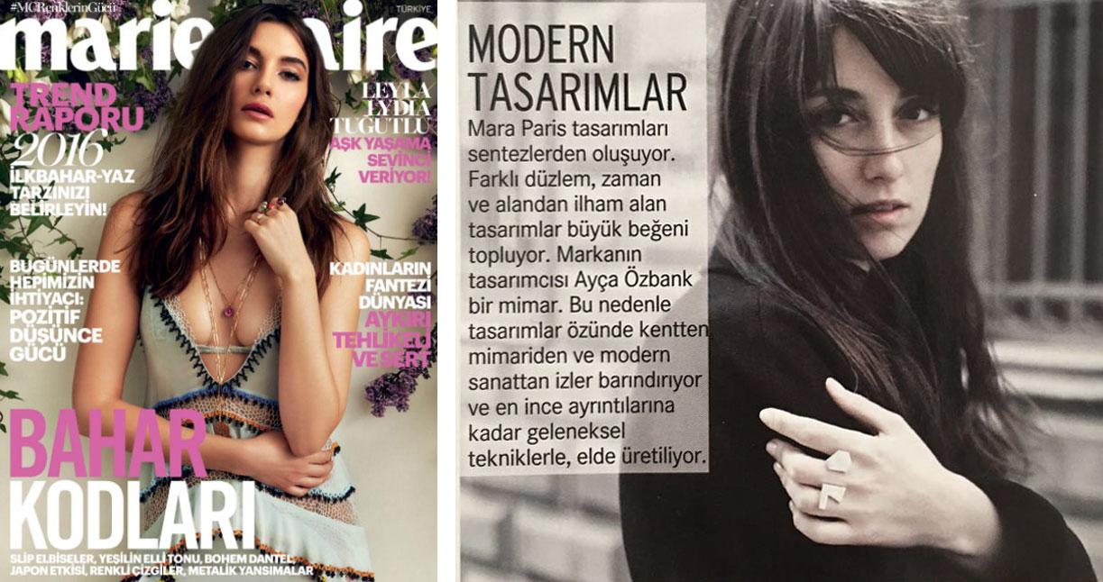 Marie Claire - Designs modernes