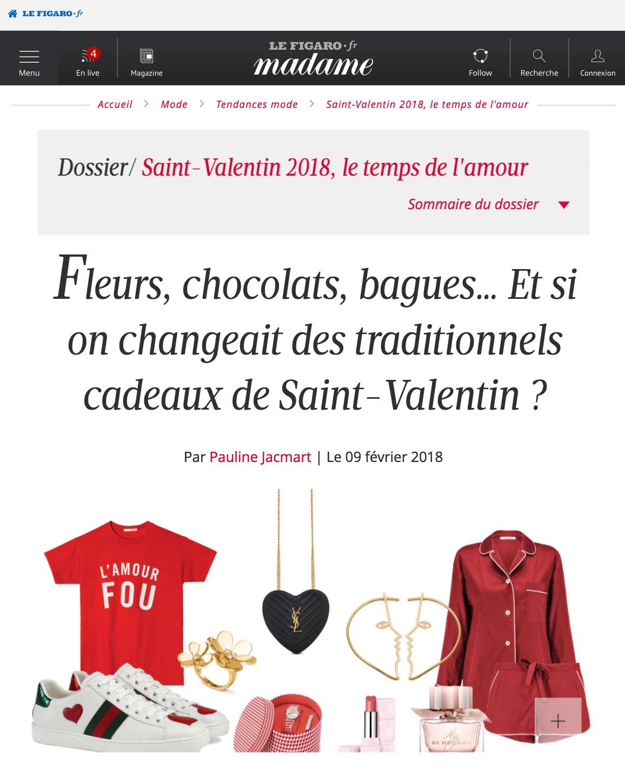 Madame Figaro - Valentine's Day gift guide