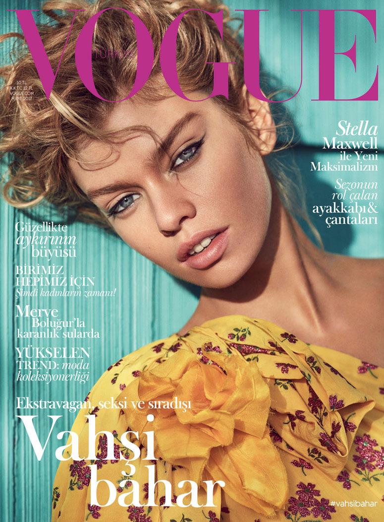 Vogue - Editorial avec Ece Öğütoğulları