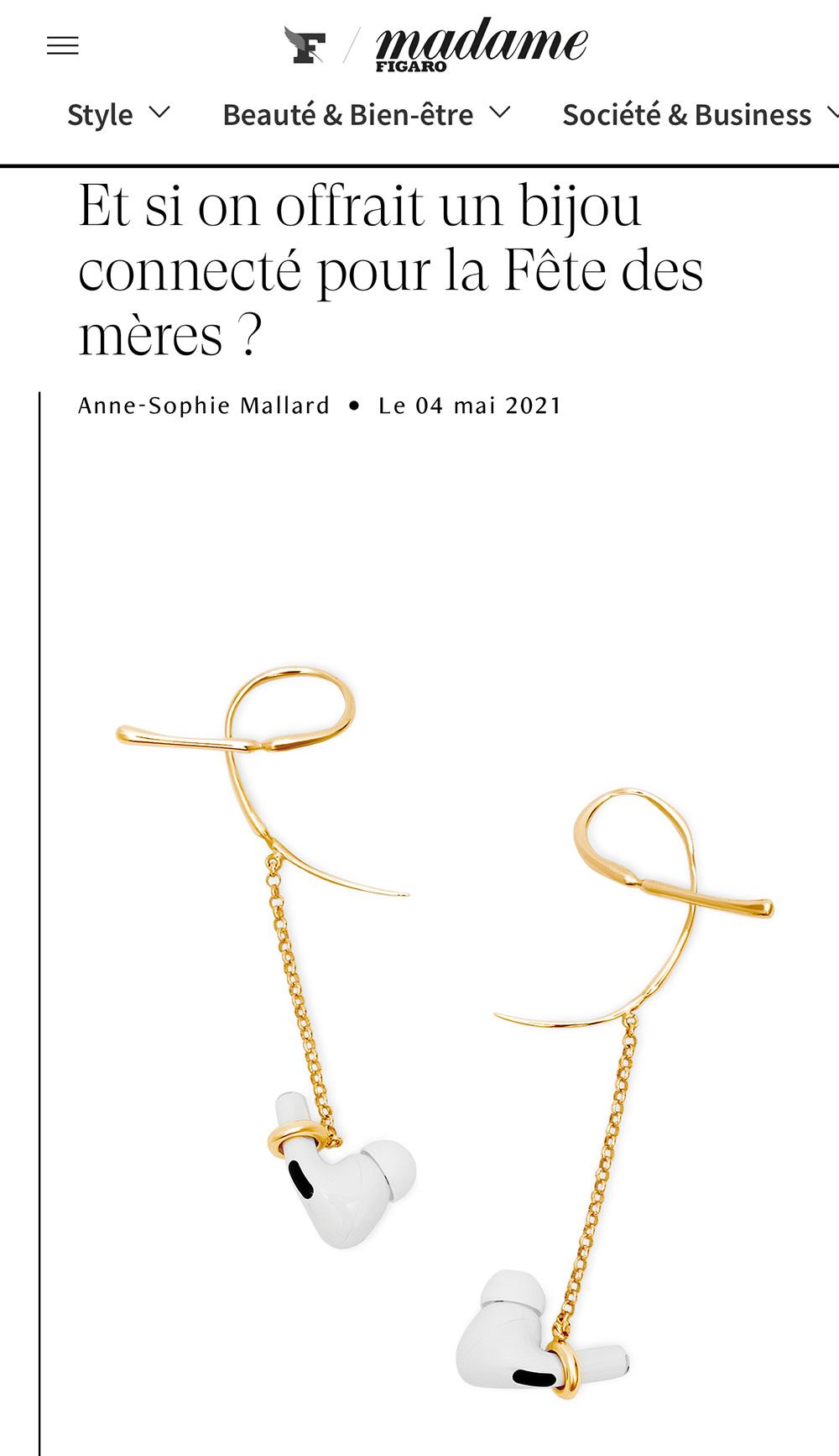 Madame Figaro - Et si on s'offrait un bijou connecté ?