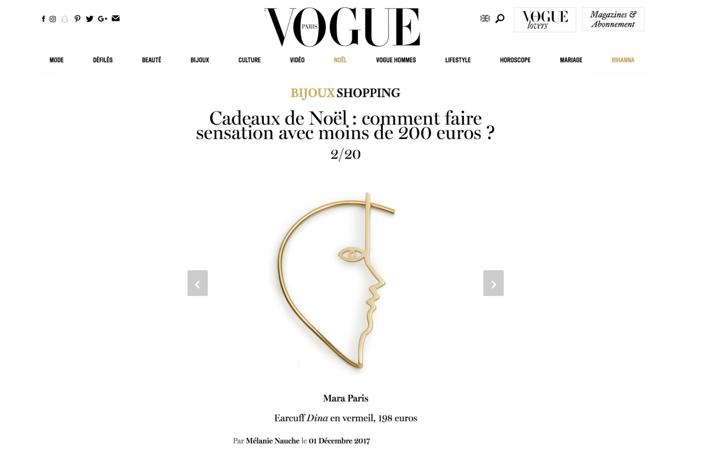 Vogue.fr - How to impress this Christmas...