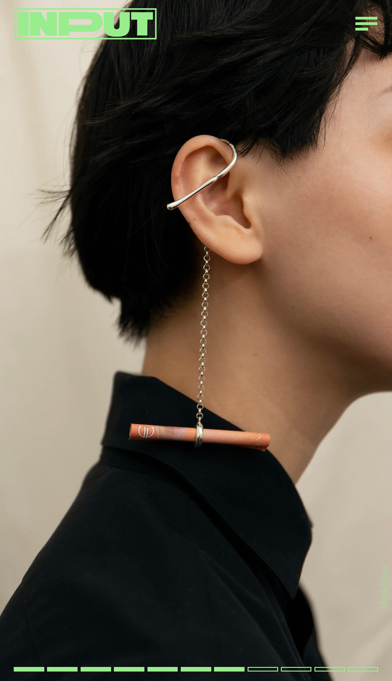 Input Mag - Mara Paris' functional jewelry shows AirPods earrings might actually work